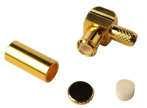 Telex 650316 Right Angle Antenna Connector for BTR 650316