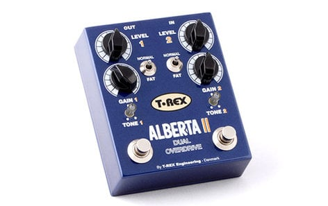 T-Rex Alberta II Dual Classic Overdrive Effects Pedal ALBERTA-II