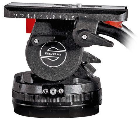 Sachtler 2500P  Video 25 Plus 150mm Fluid Head 2500P
