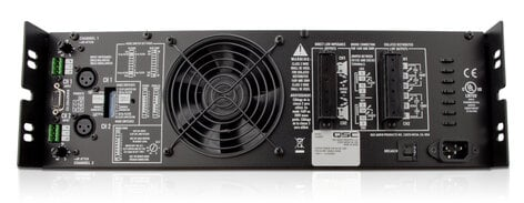 QSC ISA300Ti Installation Power Amplifier with 25V, 70V, 100V and Low Impedance Outputs ISA300TI