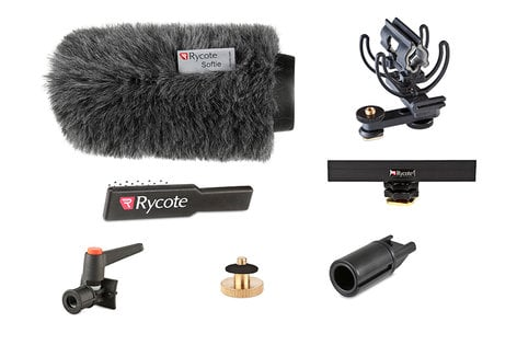 Rycote 116011 15cm Classic-Softie Suspension and Windsheild Kit for Shotgun Microphones 116011-RYCOTE