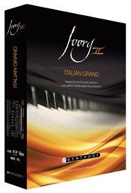 Synthogy Ivory II Italian Grand Virtual Piano Software IVORY2-ITALIAN-G-E