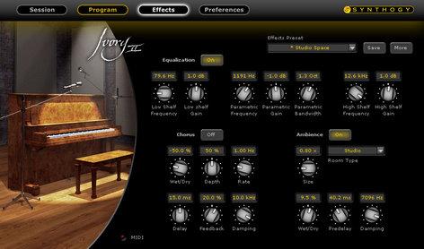 Synthogy Ivory II Upright Pianos Upright Piano Virtual Instrument Software IVORY2-UPRIGHT-P-E