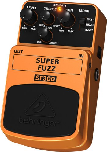 Behringer Super Fuzz SF300 Fuzz Effects Pedal SF300