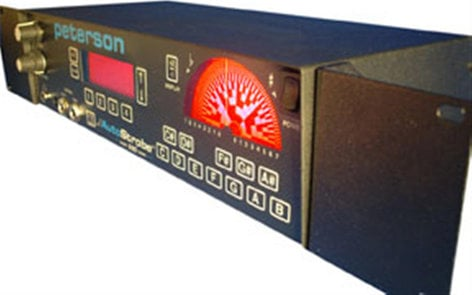 Peterson Tuners 403831 AutoStrobe R590 Rackmount Strobe Tuner with Tone Generator and Metronome 403831