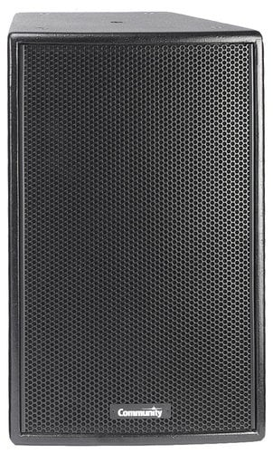 "Community V2-1264W 12"" Veris 2 500 Watt 8 ohm Two-Way Full-Range Loudspeaker in White with 60° x 40° Dispersion VERIS2-1264-WHITE"