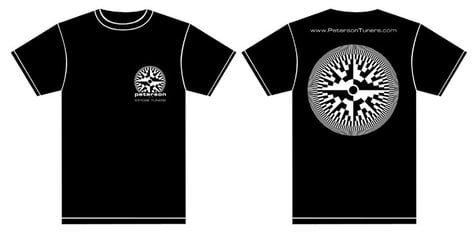 Peterson Tuners 173823  Strobe It T-Shirt 173823