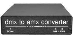 Doug Fleenor Designs DMX1AMX DMX to AMX Converter, One input, One Output DMX1AMX