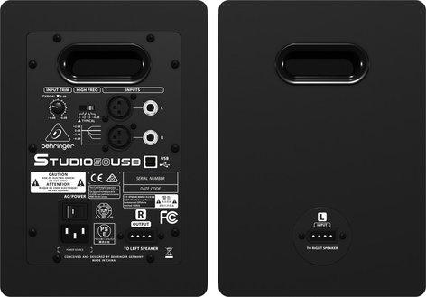 Behringer Studio 50 USB Pair of USB Nearfield Studio Monitors STUDIO-50USB