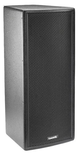 "Community VERIS2 28 8"" 300W 4Ohm 2-Way Speaker in Black VERIS2-28-BLACK"
