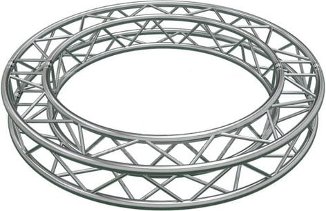 Global Truss SQ-C2-90 6.56' 4 x 90 Degree Arcs Truss Circle SQ-C2-90