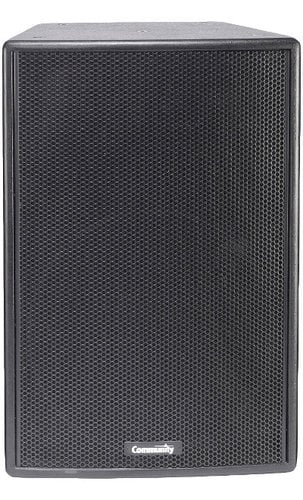 "Community VERIS2 1564 15"" 200W 8Ohm 2-Way Speaker in Black VERIS2-1564-BLACK"