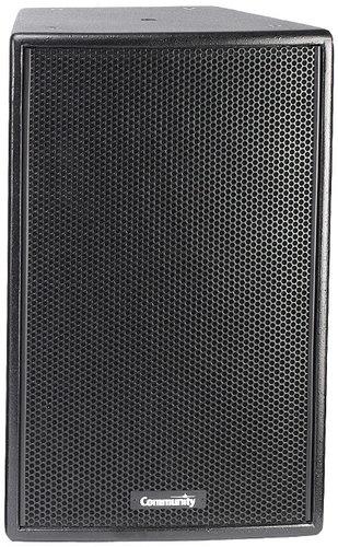 """Community VERIS2 1296 12"""" 500W 8Ohm 2-Way Speakers in Black VERIS2-1296-BLACK"""
