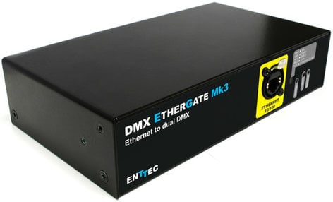 Welp Enttec 70070 Ethernet To Dual DMX Interface | Full Compass Systems BX-27