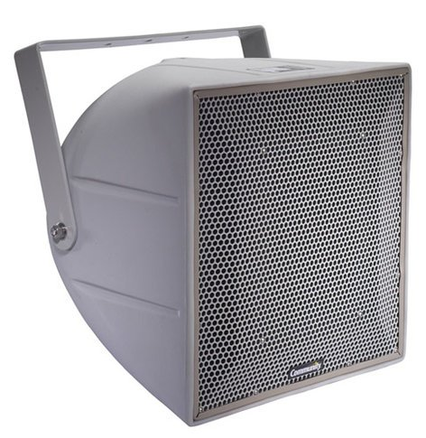 "Community R.5HP R Series 12"" 3-Way Weather-Resistant Loudspeaker in Light Grey R.5HP"