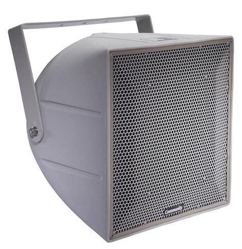"""Community R.5HPT R Series 12"""" 3-Way Weather-Resistant Loudspeaker with 70V/100V Transformer in Light Grey R.5HPT"""