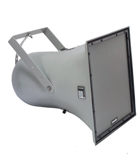 """Community R1-94Z R Series 12"""" 2-Way Weather-Resistant Horn-Loaded Loudspeaker with 80°x35° Dispersion in Light Grey R1-94Z"""