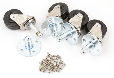 Fender 099-4000-000  Swivel Caster Set  099-4000-000