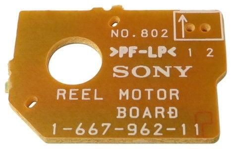 Sony 166796211 Reel Motor PCB for PCMR300 166796211