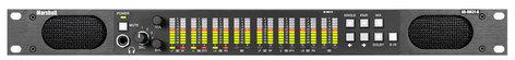 Marshall Electronics AR-DM31-B 16 Channel Digital Audio Monitor - 1RU Mainframe with Tri-Color LED Bar Graphs AR-DM31