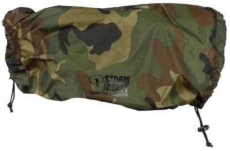 Vortex Media SJ-XL-C XL Standard Model Storm Jacket Cover in Camouflage SJ-XL-C