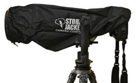 Vortex Media P-SJ-XXL-B XXL Pro Storm Jacket for SLR in Black P-SJ-XXL-B