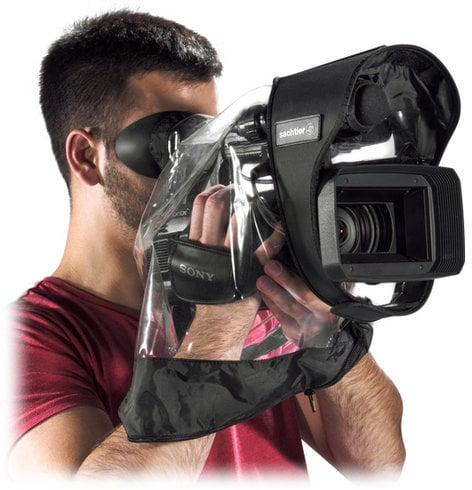 Sachtler SR410 Transparent Raincover for Small Video Cameras SR410