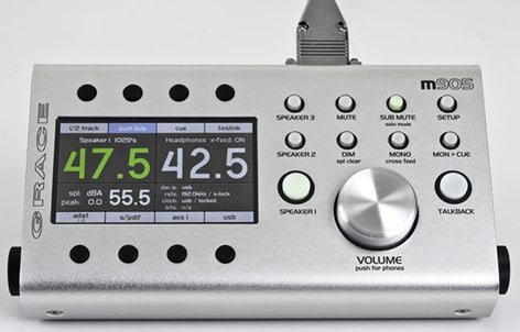 Grace Design m905 Analog Reference Monitor Controller with Analog Inputs Only M905-ANALOG