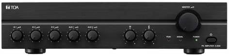 TOA A-2240 240 Watt 5-Input Mixer/Amplifier with Auto-Mute Function A2240-CU