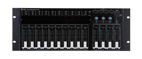 TOA M-864D 4RU 8-Channel Digital Stereo Mixer M864D-CU