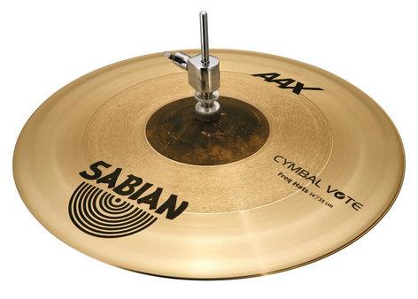 "Sabian 214XFHN/1 14"" AAX Freq Top Hi-Hat Cymbal 214XFHN/1"