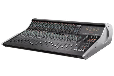Solid State Logic XL-Desk X2 Super Analogue Mixer with Populated 500-Series Slots XL-DESK-X2