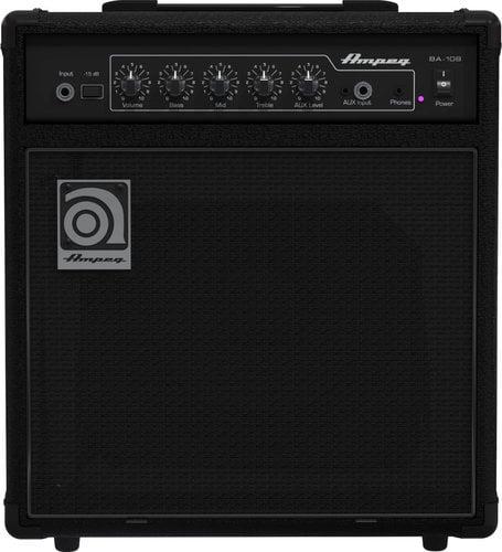 """Ampeg BA-108 1x8"""" 15W Bass Combo Amplifier BA-108"""