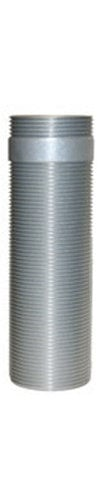 "Chief Manufacturing CMSZ006S  Fully Threaded Column 0-6"" (0-152 mm) in Sliver CMSZ006S"