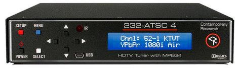 Contemporary Research Co. 232-ATSC 4 HDTV Tuner CRC-232-ATSC-4