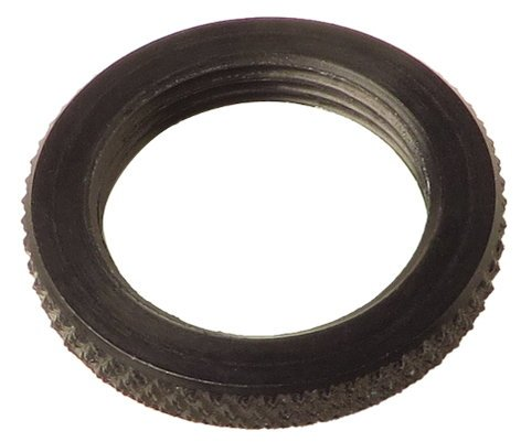"K&M Stands 03.31.555.15  5/8"" Aluminum Black Lockring Washer 03.31.555.15"