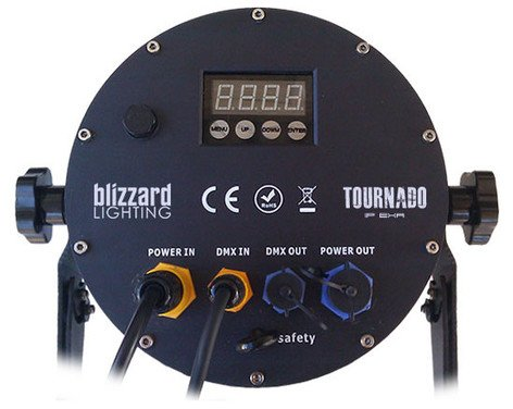Blizzard Lighting TOURnado IP EXA 12x15W RGBAW+UV Par Beam Fixture TOURNADO-IP-EXA