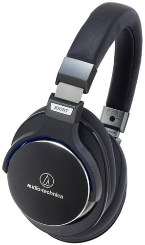 Audio-Technica ATH-MSR7BK Over-Ear High Resolution Headphones ATH-MSR7BK