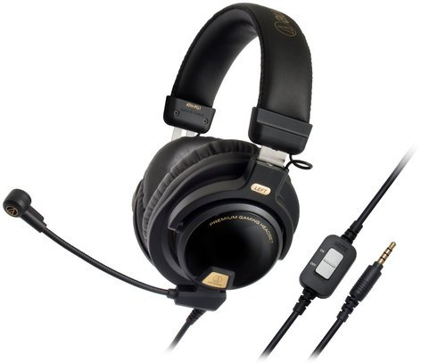 """Audio-Technica ATH-PG1 Premium Gaming Headset with Flexible 6"""" Boom Microphone ATH-PG1"""