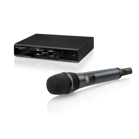 Sennheiser EWD1-845S Evolution Wireless D1 Series Digital Handheld Microphone System with e845 Capsule EWD1-845S
