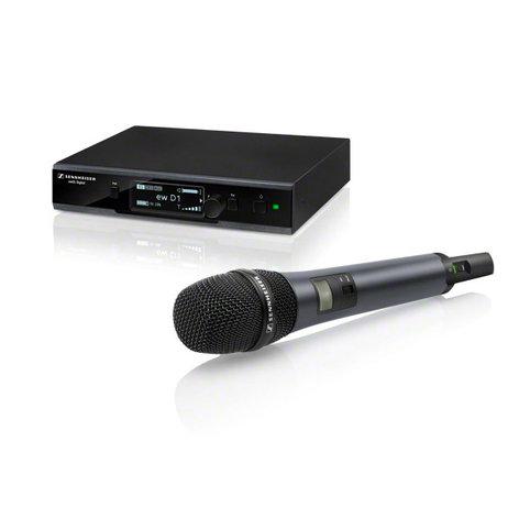Sennheiser EWD1-845S Evolution Wireless D1 Series Digital Handheld Microphone System with e845 Capsule EWD1-845S