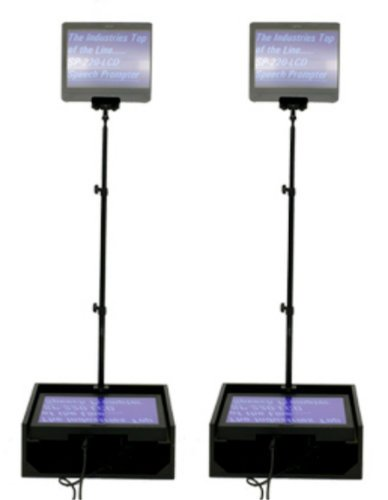 """Mirror Image Teleprompter SP-150MP 15"""" Speech Series Prompter Package SP-150MP"""