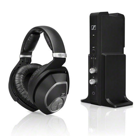Sennheiser RS 195 Wireless Stereo Headphone System RS195