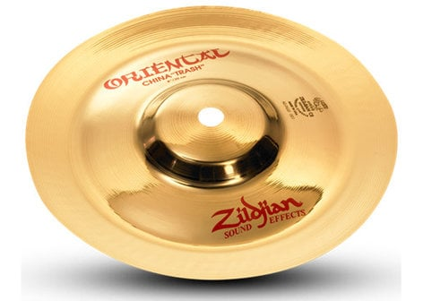 "Zildjian A0608 8"" FX Oriental China ""Trash"" Cymbal in Brilliant Finish A0608"