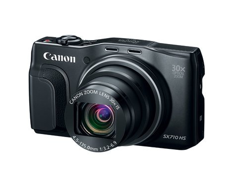 """Canon PowerShot SX710 HS 20.3MP Digital Camera with 30x Optical Zoom, 60p Recording and 3"""" LCD Screen POWERSHOT-SX710HS-KT"""