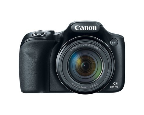 """Canon PowerShot SX530 HS 16.0MP Digital Camera with 50x Optical Zoom, Wi-Fi and 3"""" LCD Screen POWERSHOT-SX530HS-KT"""