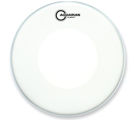 "Aquarian Drumheads HIP13-WH 14"" Hi-Impact Snare Drum Batter Head in White HIP13-WH"