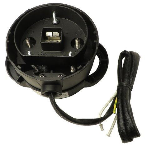 Lightronics Inc. OFXLH26B Black Lamp Housing for FXELP Ellipsoidal OFXLH26B