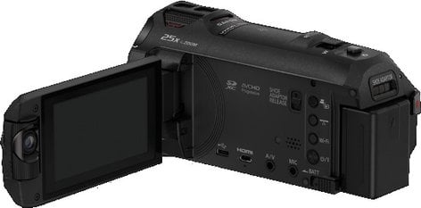 Panasonic HC-WX970 4K Ultra HD Camcorder with Onboard Twin Video Camera HC-WX970