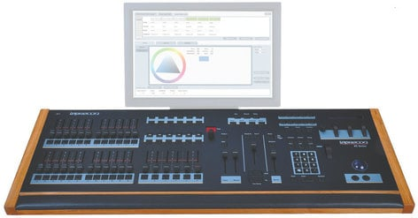 Leprecon XC 350 6 Playback, 24-Fader Lighting Console XC-350